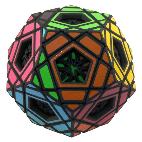 Multidodecahedron - Megaminx and Master Pentultimate in one, Brilic / Pyraminx Crystal, Hungarian Supernova, Starminx, Pentultimate hybrid, twisty puzzle Rubik