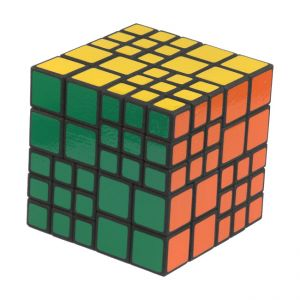 Chimera 4x4 and 6x6 combination cube very hard and difficult custom Rubik