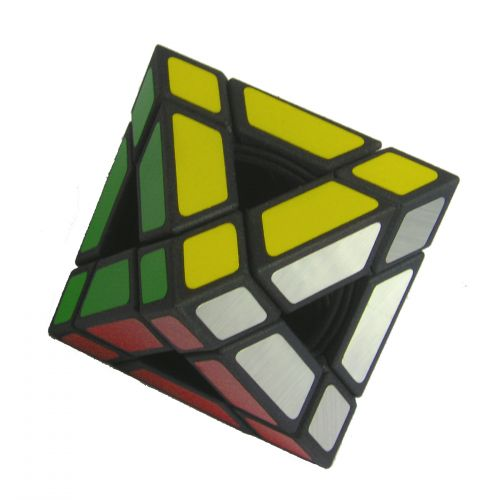 Holey Octahedron custom Rubiks cube type twisty puzzle like Gentoshas Void Cube by Okamoto