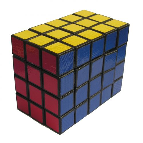 exclusive fully functional 3x4x5 cuboid very hard and difficult custom Rubik